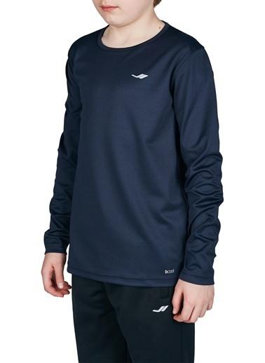 Lescon 18S-3233 Koyu Lacivert Çocuk Uzun Kollu T-Shirt Lacivert